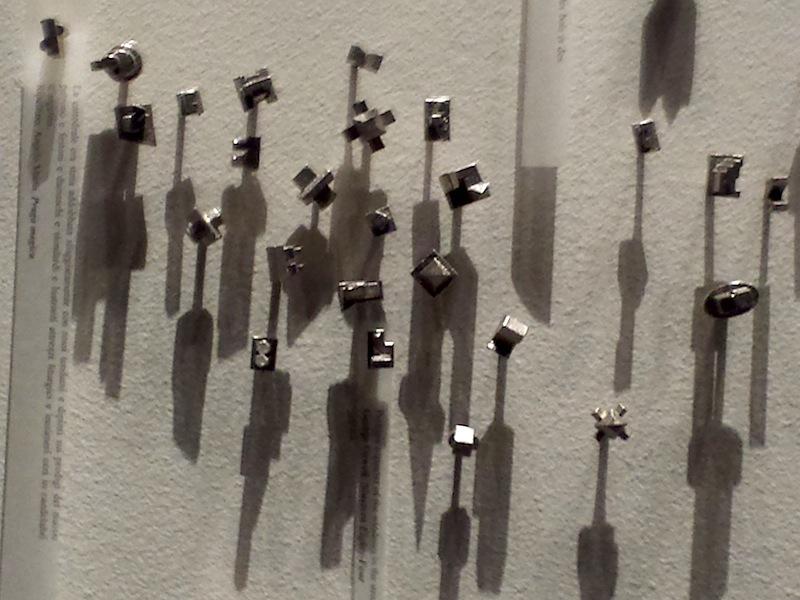 """Carlos Garaicoa """"El Mapa del Viajero II"""" pushpins, strips of paper"""