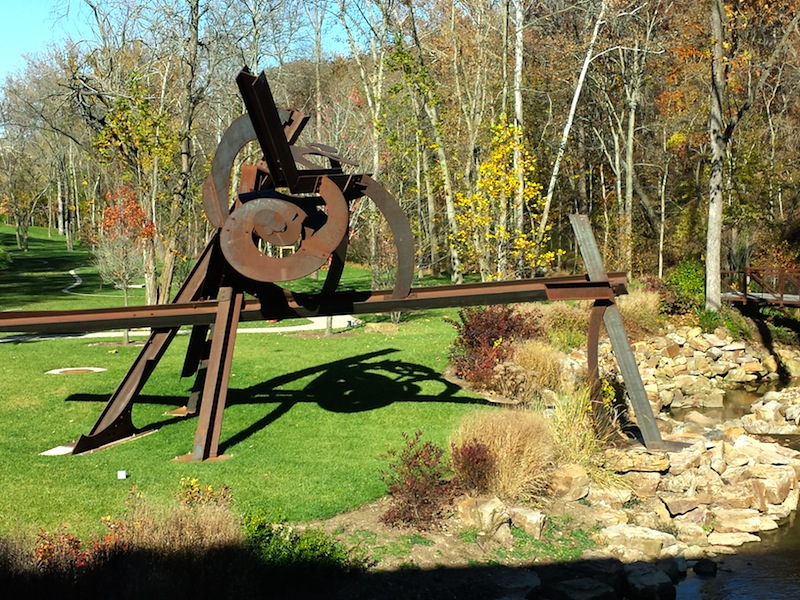 "Mark di Suvero ""Lowell's Ocean"" 2005-2008 steel"
