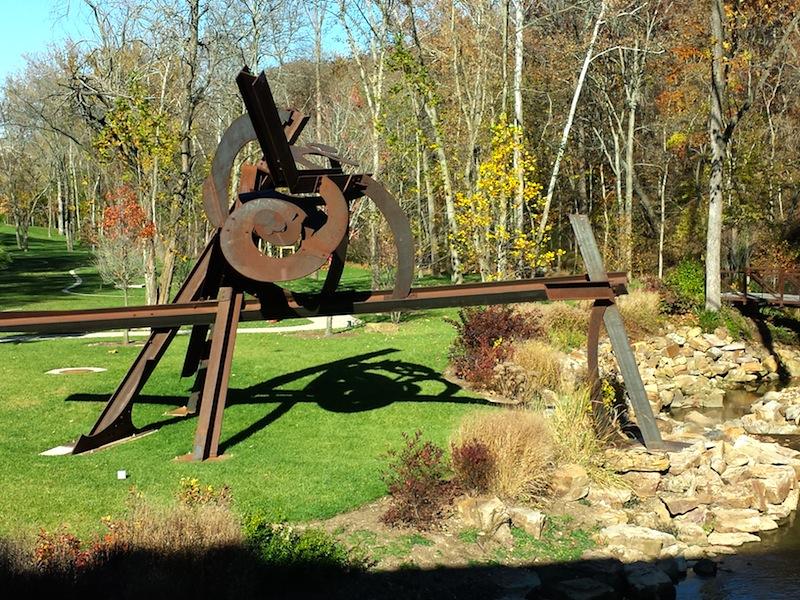 "Mark di Suvero ""Lowell's Ocean"" 2005-2008 steel"