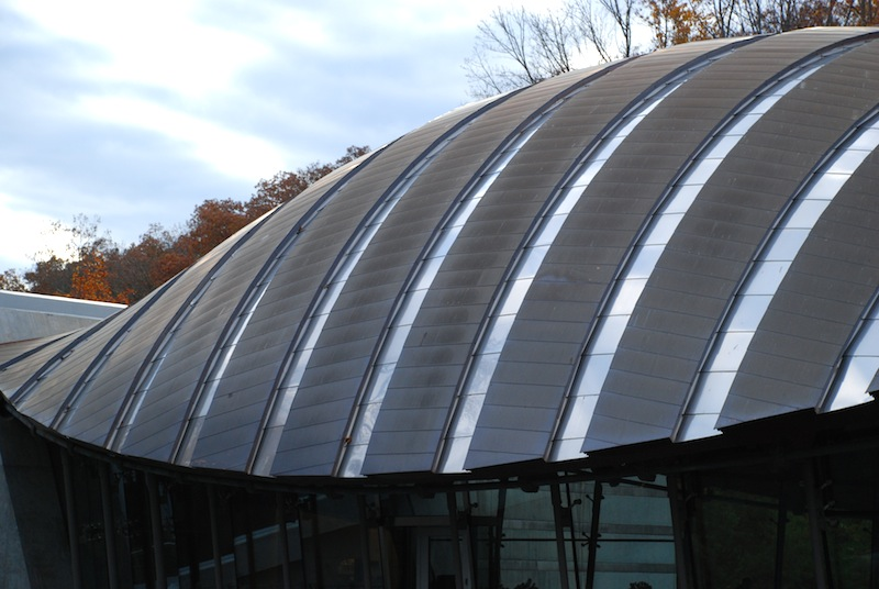 Crystal Bridges-Roof
