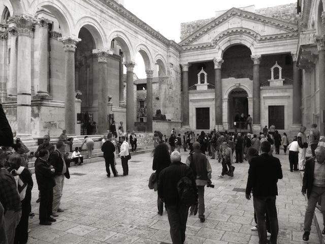 Palace of Diocletian-Courtyard