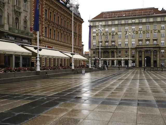 Zagreb-Ban Jelacic Square