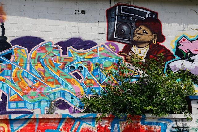 Bruce graffiti 2