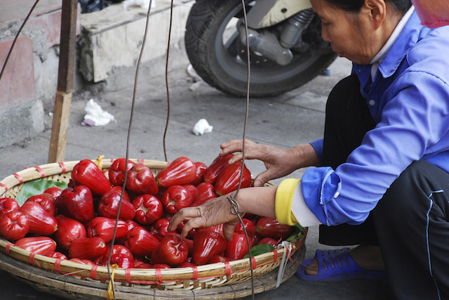 Vietnam Peppers-Street Market