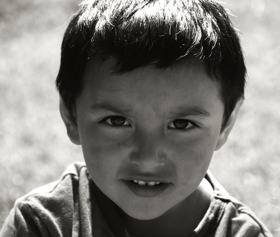 Boy - Chiloe, Chile